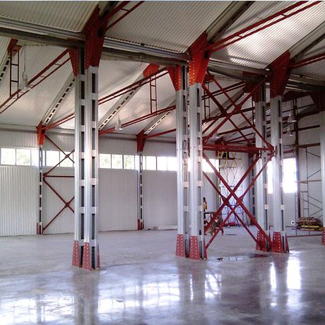 Каркасные здания, склады и ангары